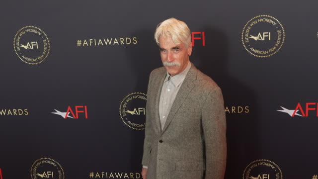 sam elliott at the afi awards 2018 at four seasons hotel los angeles at beverly hills on january 04 2019 in beverly hills california - best supporting actor stock videos & royalty-free footage