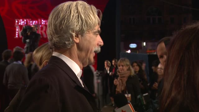 sam elliott at the 'did you hear about the morgans?' premiere at new york ny. - sam elliott stock videos & royalty-free footage