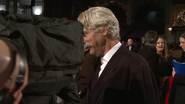 sam elliott at the did you hear about the morgans? uk premiere at london england. - sam elliott stock videos & royalty-free footage