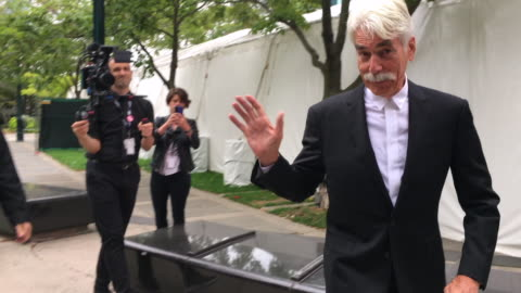 sam elliott at the premiere of 'a star is born' in the toronto international film festival on september 09, 2018 outside the roy thomson hall in the... - sam elliott stock videos & royalty-free footage
