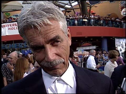 sam elliott at the premiere of 'the hulk' at universal amphitheatre in universal city, california on june 17, 2003. - sam elliott stock videos & royalty-free footage
