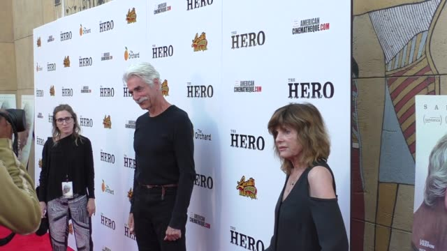 sam elliott at the premiere of the orchard's 'the hero' - arrivals on june 05, 2017 in hollywood, california. - sam elliott stock videos & royalty-free footage