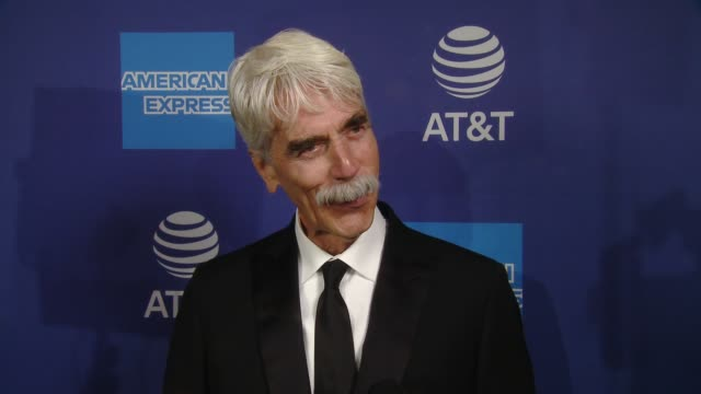 vidéos et rushes de interview sam elliott on how it feels to be part of psiff what makes this festival different from others why it was important for him to help honor... - vip