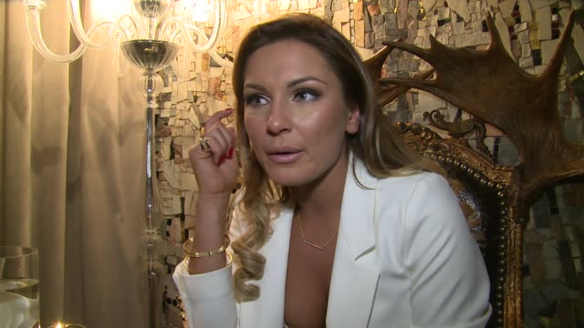 sam faiers on her new range, disorders, big brother and rosie huntington-whiteley on 28th january 2015 in london, england. - personal hygiene product stock videos & royalty-free footage