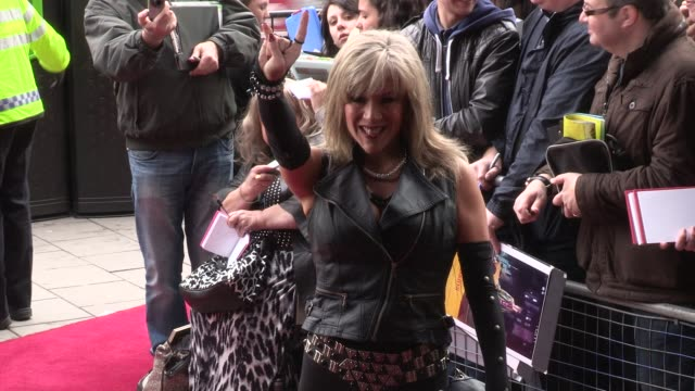 sam fox at we will rock you - 10 year anniversary celebration at dominion theatre on may 14, 2012 in london, england - the dominion theatre stock videos & royalty-free footage