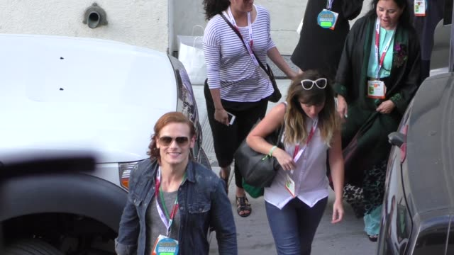 Sam Heughan at ComicCon Celebrity Sightings on July 11 2015 in San Diego California