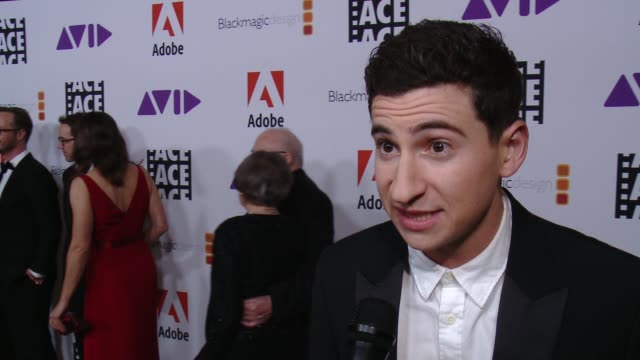 INTERVIEW Sam Lerner on the event at 68th Annual ACE Eddie Awards in Los Angeles CA