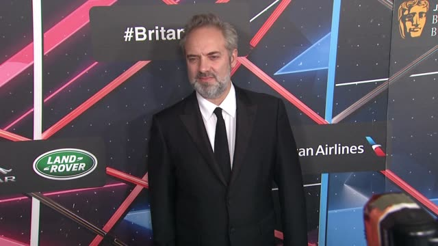 sam mendes at 2015 jaguar land rover british academy britannia awards presented by american airlines in los angeles ca - land rover stock videos and b-roll footage