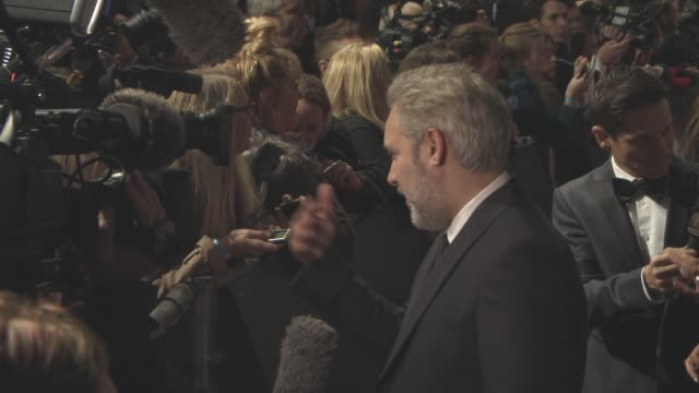 sam mendes at 'spectre' world premiere at royal albert hall on october 26, 2015 in london, england. - sam mendes stock videos & royalty-free footage