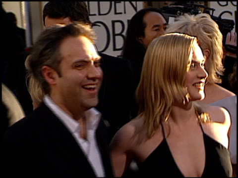 sam mendes at the 2002 golden globe awards at the beverly hilton in beverly hills, california on january 20, 2002. - sam mendes stock videos & royalty-free footage
