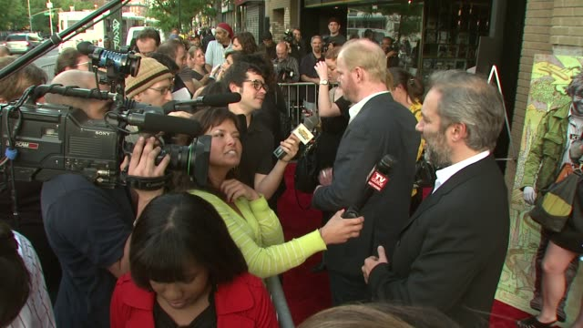 sam mendes at the 'away we go' screening at new york ny - away we go video stock e b–roll