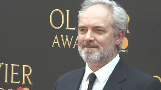 sam mendes at the olivier awards with mastercard at royal albert hall on april 08 2018 in london england - sam mendes stock videos & royalty-free footage