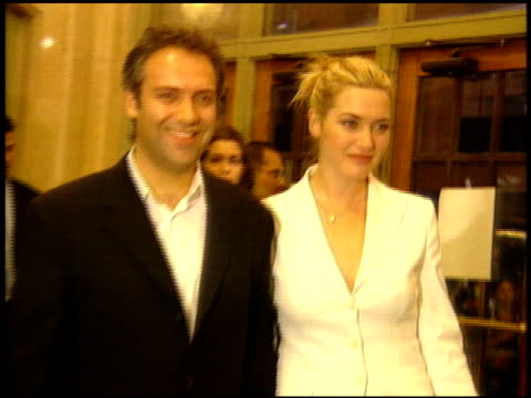 sam mendes at the 'road to perdition' new york premiere on july 9 2002 - sam mendes stock videos & royalty-free footage