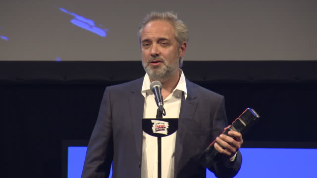 INTERVIEW Sam Mendes Best British film at Jameson Empire Film Awards at Grosvenor House on March 20 2016 in London England