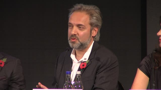 Sam Mendes on his early memories of Bond at the Bond 23 Launch Press conference Skyfall at London England