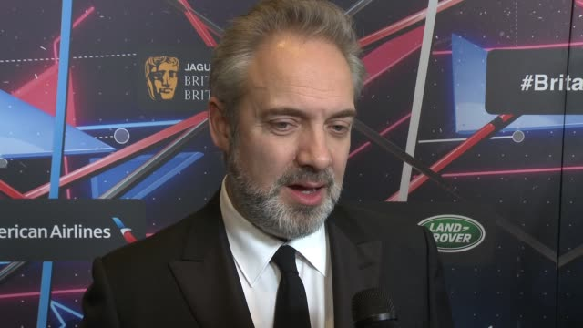 sam mendes on how it feels to be honored tonight, on why bafta is important, on when he first started out if he ever imagined such an illustrious... - sam mendes stock videos & royalty-free footage