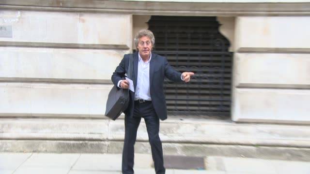 sam mendes, roger daltrey, jb gill at best of britain's creative industries at the foreign office on june 30, 2014 in london, england. - roger daltrey stock videos & royalty-free footage