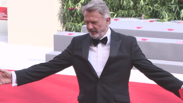 Sam Neill at 'Sweet Country' Red Carpet 74th Venice International Film Festival at Palazzo del Casino on September 06 2017 in Venice Italy