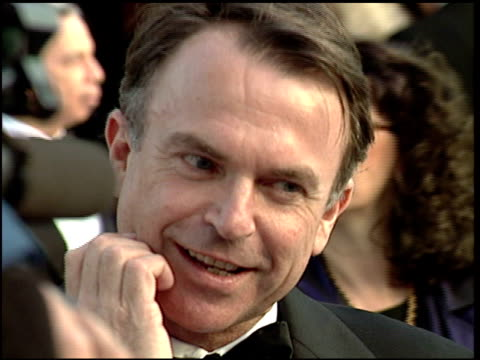 Sam Neill at the 1997 Academy Awards Vanity Fair Party at the Shrine Auditorium in Los Angeles California on March 24 1997