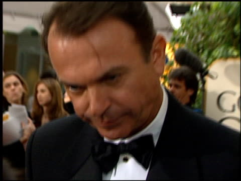 Sam Neill at the 1999 Golden Globe Awards at the Beverly Hilton in Beverly Hills California on January 24 1999