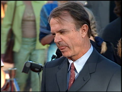 Sam Neill at the 'Jurassic Park III' Premiere at Universal Amphitheatre in Universal City California on July 16 2001