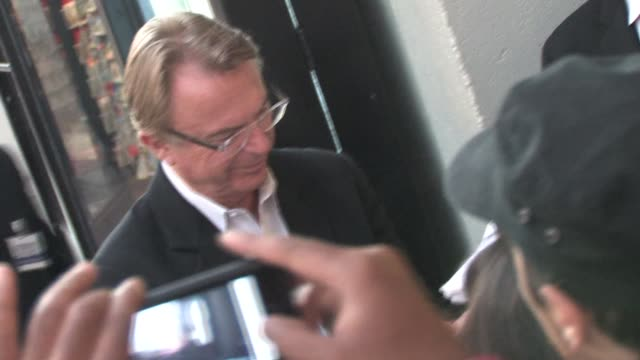 Sam Neill at the Legend of the Guardians Premiere in Hollywood at the Celebrity Sightings in Los Angeles at Los Angeles CA