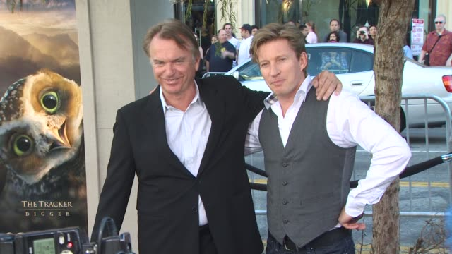 Sam Neill David Wenham at the 'Legend Of The Guardians The Owls Of Ga'Hoole' Premiere at Hollywood CA