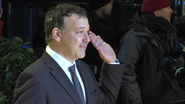 stockvideo's en b-roll-footage met sam raimi at 'oz the great powerful' european premiere at empire leicester square on february 28 2013 in london england - première