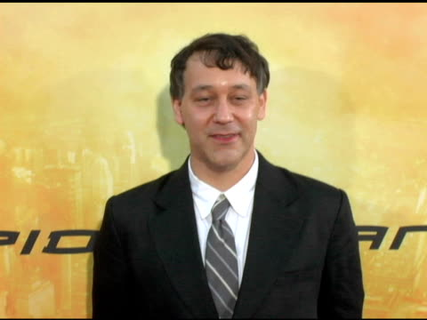 sam raimi at the 'spider-man 2' los angeles premiere arrivals at the mann village theatre in westwood, california on june 22, 2004. - house spider stock videos & royalty-free footage