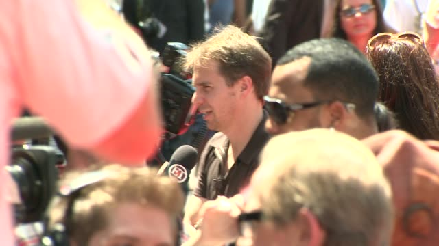 sam rockwell at the 'g-force' premiere at hollywood ca. - g force stock videos & royalty-free footage