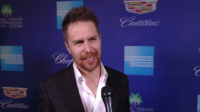 INTERVIEW Sam Rockwell on Palm Springs and the atmosphere at the 29th Annual Palm Springs International Film Festival Awards Gala at Palm Springs...