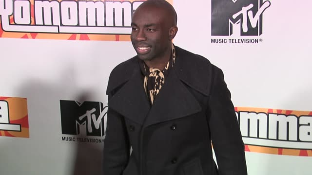 sam sarpong at the wilmer valderrama and mtv present the premiere party for yo momma at privilege in west hollywood california on march 20 2006 - wilmer valderrama stock videos and b-roll footage