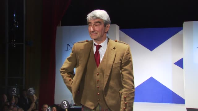 sam waterson at the 8th annual 'dressed to kilt' charity fashion show at new york ny - dressed to kilt stock videos & royalty-free footage