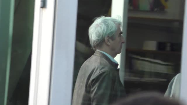 Sam Waterston arrives to ArcLight Theatre in Hollywood in Celebrity Sightings in Los Angeles