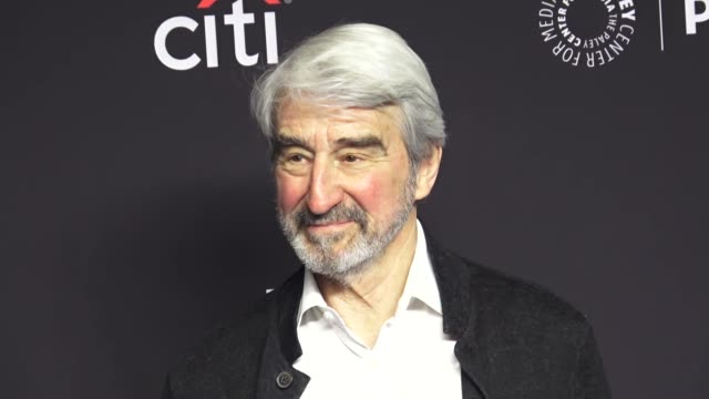 sam waterston at the paley center for media los angeles 2019 panel presentation of 'grace and frankie' at the dolby theatre in hollywood at celebrity... - paley center for media los angeles stock videos & royalty-free footage