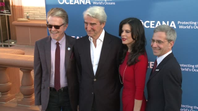 Sam Waterston Keri Selig Keith Addis and Ronald Meyer at the A Concert For Our Oceans Hosted By Seth MacFarlane at The Wallis Annenberg Center for...