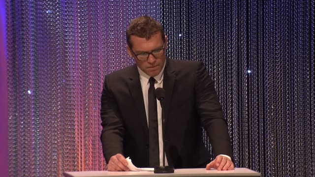 SPEECH Sam Worthington at 2017 Princess Grace Awards Gala With Presenting Sponsor Christian Dior Couture at The Beverly Hilton Hotel on October 25...