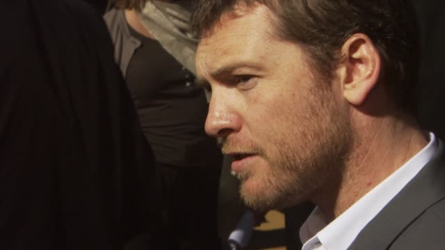 sam worthington at the 'clash of the titans' premiere at hollywood ca - clash of the titans stock videos & royalty-free footage