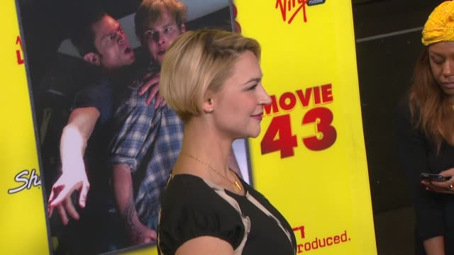 Samaire Armstrong at Movie 43 Los Angeles Premiere 1/23/2013 in Hollywood CA