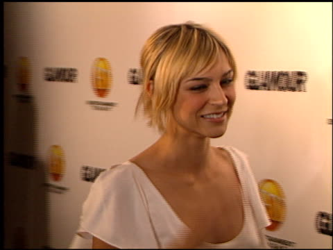 Samaire Armstrong at the 2002 Entertainment Tonight Emmy Party at the Mondrian Hotel in West Hollywood California on September 22 2002