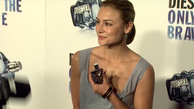 Samaire Armstrong at the Diesel's 'Only The Brave' Fragrance Launch at West Hollywood CA
