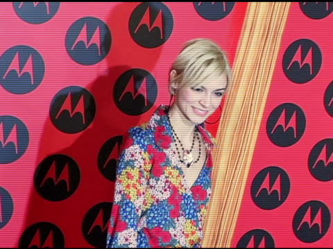 Samaire Armstrong at the Motorola 6th Anniversary Holiday Party Arrivals at the Music Box Theater in Hollywood California on December 2 2004