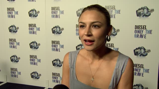 Samaire Armstrong on being a part of the night her favorite Diesel accessories the bravest person she knows her favorite old school Terminator line...