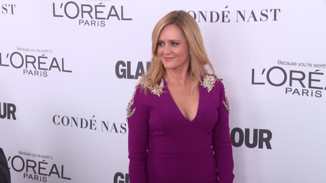 Samantha Bee at Glamour's 2017 Women Of The Year on November 13 2017 in New York City