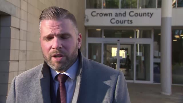 vidéos et rushes de samantha eastwood murder: michael stirling pleads guilty to murder; england: northampton: combined crown and city courts: ext detective inspector dan... - northampton