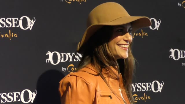 samantha harris at the celebrity premiere of cavalia odysseo under the white big top on november 11 2017 in camarillo california - camarillo stock videos & royalty-free footage