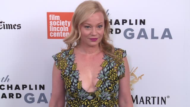samantha mathis at 44th chaplin award gala - arrivals at david h. koch theater, lincoln center on may 8, 2017 in new york city. - samantha mathis stock videos & royalty-free footage