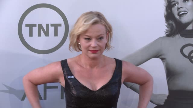 samantha mathis at afi's 42nd life achievement award honoring jane fonda at dolby theatre on june 05, 2014 in hollywood, california. - samantha mathis stock videos & royalty-free footage