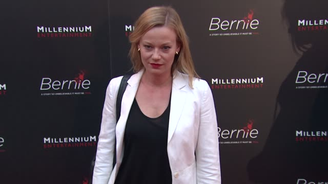 samantha mathis at bernie special los angeles screening on 4/18/12 in hollywood, ca. - samantha mathis stock videos & royalty-free footage