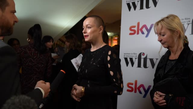 samantha morton attends the women in film and tv awards 2019 at hilton park lane on december 06 2019 in london england - steve coogan stock videos & royalty-free footage